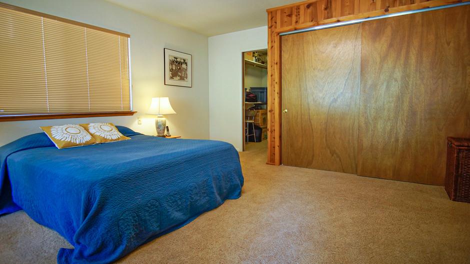 Master Bedroom View To Walk In Closet &