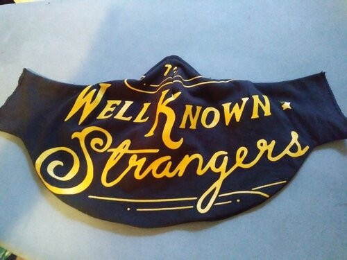 The Well Known Strangers Classic Mask-Danna