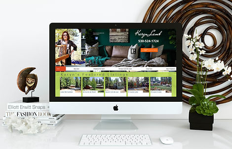 Marcie Adams Website Design