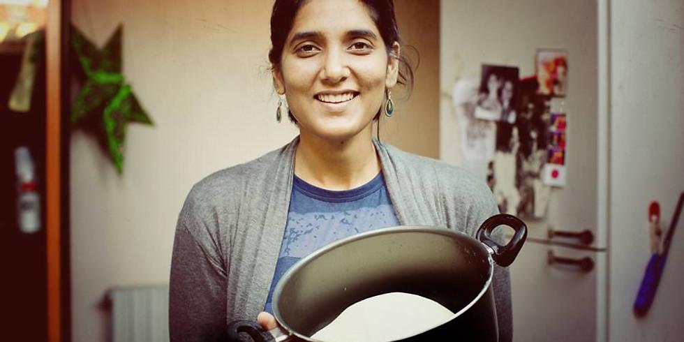 カレーだけじゃない。インドの発酵食ワークショップ