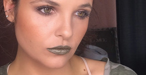 Smokey Eye With an Army Green Lip Tutorial