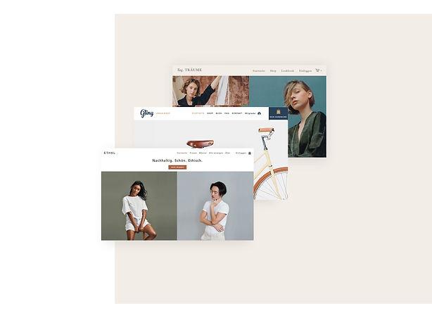 Professionelle Online-Shops auf Basis von Vorlagen von Wix.