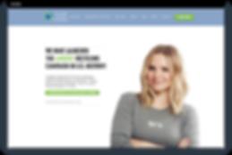Página web de Wix SEO Recycle Across America de Michelle Hedlund