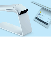 Wix Point of Sale product scanner for online and in-store sales.