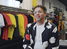RanD Pitts, Owner of Evolve Clothing Gallery