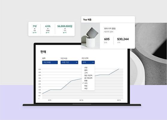 Wix 이커머스 웹사이트에 대한 데이터기반 분석과 통찰 보고서