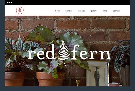 wix seo website of Sera Rogue Red Fem Brooklyn