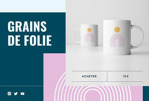 Boutique en ligne de tasses print on demand créées par des artistes et designers