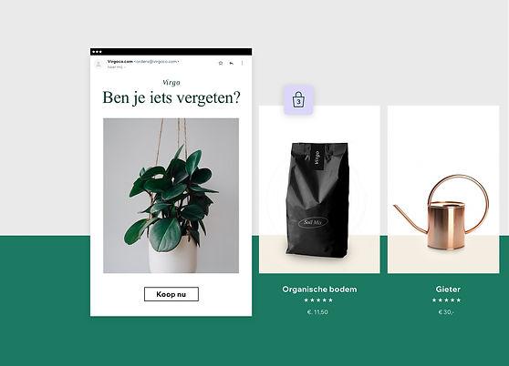 Verlaten winkelwagen e-mails en andere automatiseringen voor Wix eCommerce websites