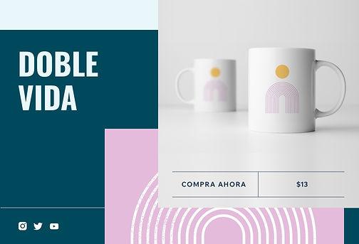 Tienda online de venta de tazas de impresión bajo demanda creadas por artistas y diseñadores