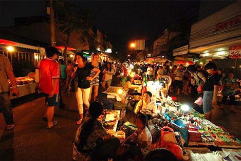 Phitsanulok Night Market พิษณุโลกบาซ่า
