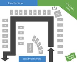 River Rim RV Park Map