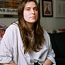 Portrait of artist Amber Vittoria