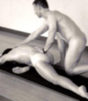 Men's partner yoga