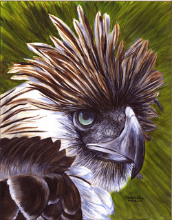 PHI EAGLE PAINTING