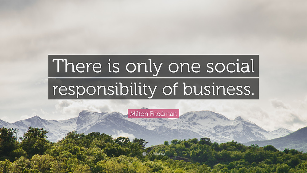 The social purpose of business