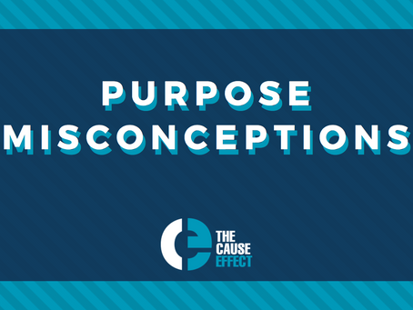 Purpose misconceptions