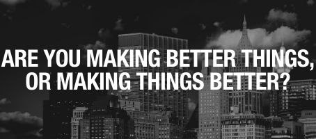 Using Your Business to Make Things Better