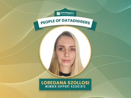People of DataDiggers - Loredana Szollosi, (Member Support Associate)