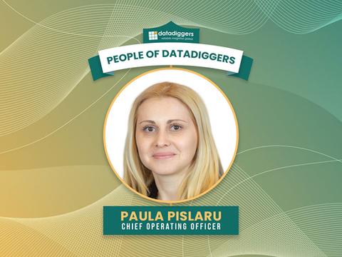 People of DataDiggers - Paula Pislaru (Chief Operating Officer)