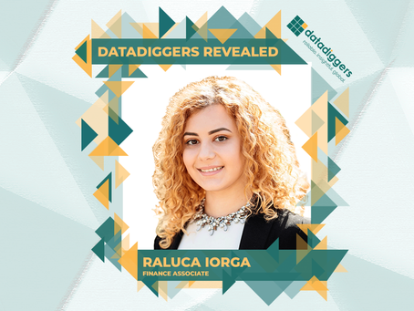 Getting to know DataDiggers - Raluca Iorga (Finance Associate)
