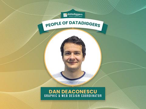 People of DataDiggers - Dan Deaconescu (Graphic Designer)