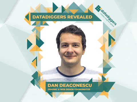 Getting to know DataDiggers - Dan Deaconescu (Graphic & Web Design Coordinator)