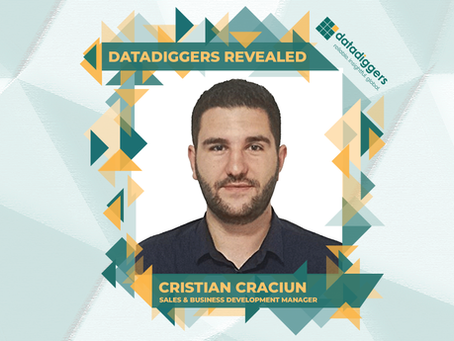Getting to know DataDiggers - Cristian Crăciun (Sales & Business Development Manager)