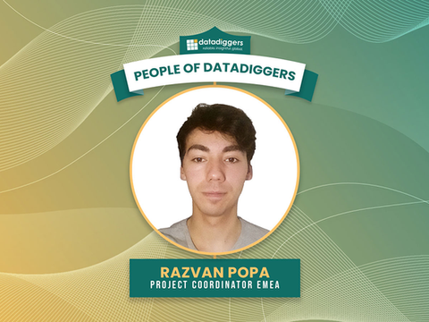People of DataDiggers - Razvan Popa (Project Coordinator EMEA)
