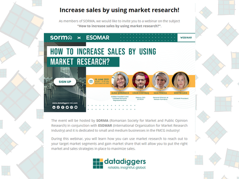Increase sales by using market research! 🚀