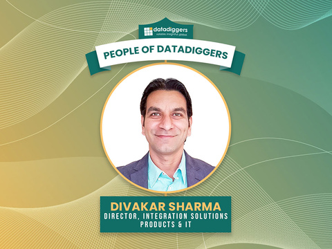People of DataDiggers - Divakar Sharma, Director (Integration Solutions, Products & IT)