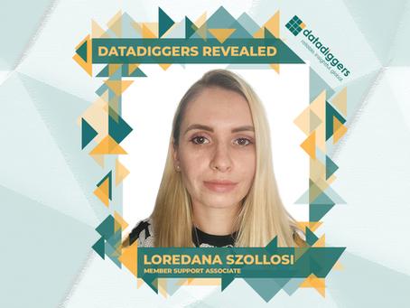 Get to know DataDiggers Loredana Szollosi (Member Support Associate)