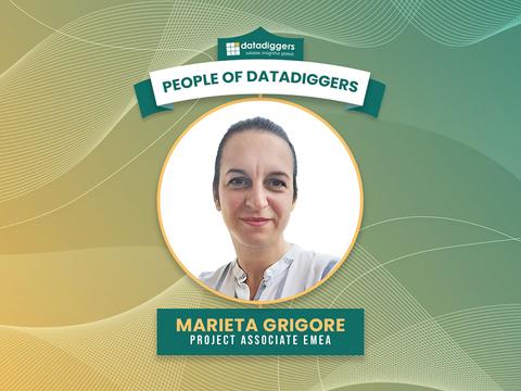 People of DataDiggers -  Marieta Grigore (Project Associate EMEA)