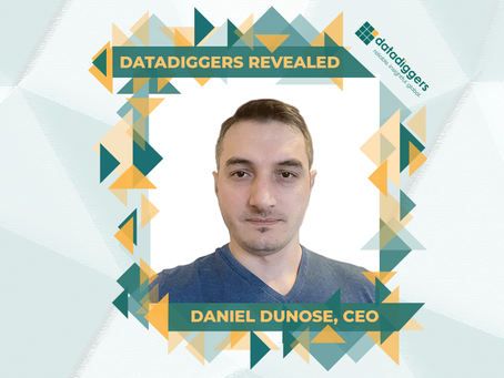 Getting to know DataDiggers - Daniel Dunose, CEO