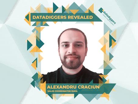 Getting to know DataDiggers - Alexandru Craciun (Sales Coordinator EMEA)