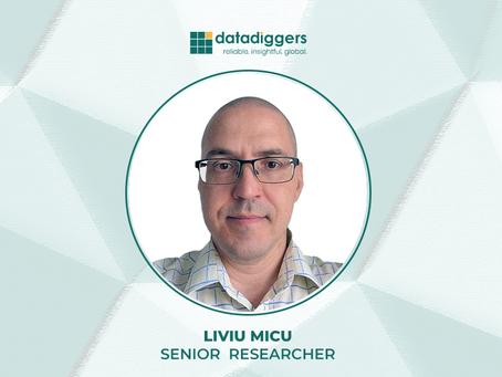 People of DataDiggers - Liviu Micu (Senior Researcher)