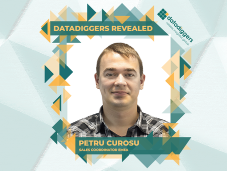 Getting to know DataDiggers - Petru Curosu (Sales Coordinator EMEA)