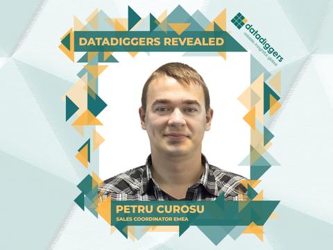 Getting to know DataDiggers - Petru Curosu (Sales Coordinator EMEA)