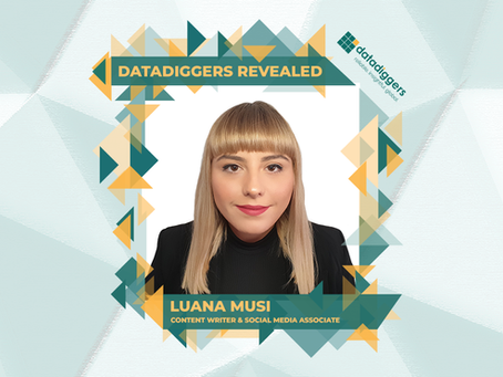 Getting to know DataDiggers - Luana Muși (Content Writer & Social Media Associate)
