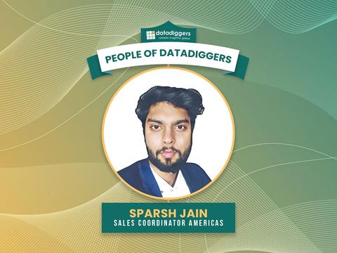 People of DataDiggers - Sparsh Jain (Sales Coordinator Americas)