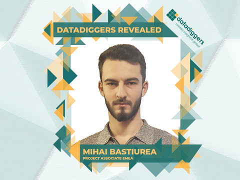 Getting to know DataDiggers - Mihai Bastiurea (Project Associate EMEA)