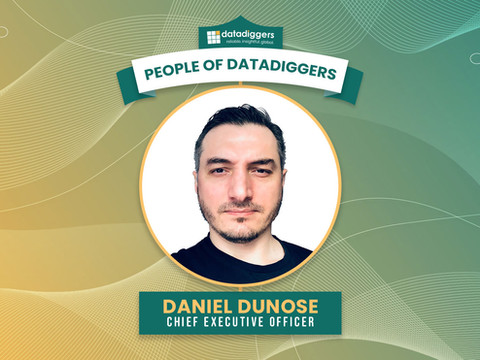 People of DataDiggers - Daniel (Chief Executive Officer)