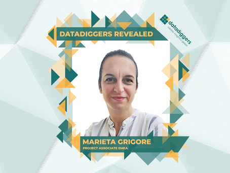 Getting to know DataDiggers - Marieta Grigore (Project Associate EMEA)