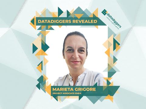 Getting to know DataDiggers - Marieta Grigore (Project Associate EMEA)