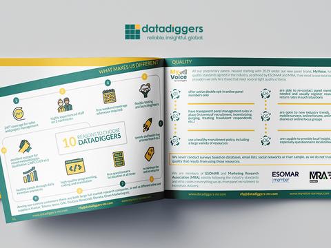 10 reasons to choose DataDiggers