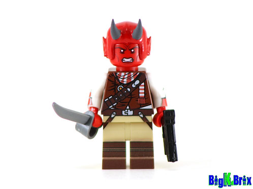 DEVARONIAN Crurc Drosscut Custom Printed & Inspired Star Wars Lego Minifigure