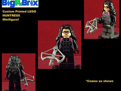 Huntress DC Custom Printed Minifigure