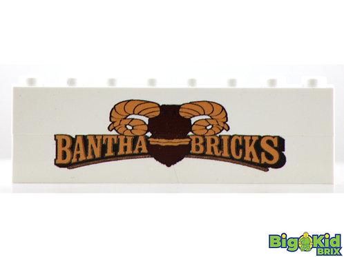 BANTHA BRICK Double Brick Badge Custom Printed for Bantha Brick Facebook Group
