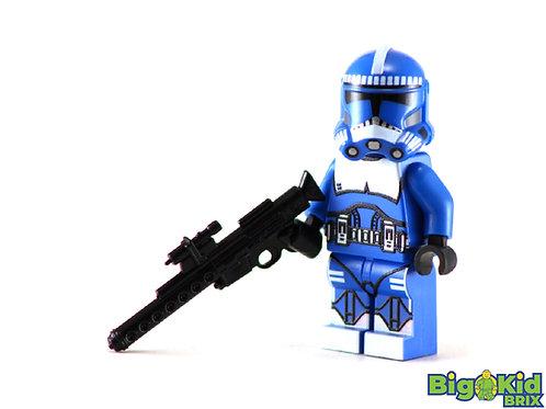 SHOCK TROOPER BLUE Custom Printed on Lego Minfiigure! Star Wars