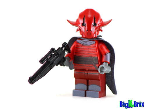 SIDAN ITHANO Custom Printed & Inspired Lego Star Wars Minifigure!